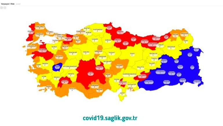 covid map