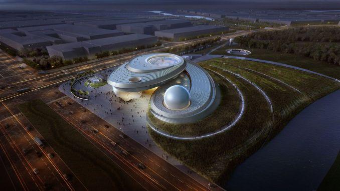 the world's largest planetarium is established in shanghai