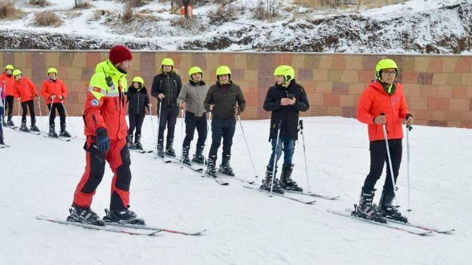 erciyes as provides operating consultancy in azerbaijan agbulak ski center