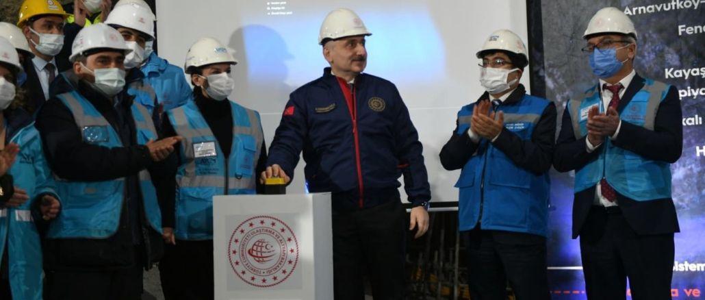 Halkkali Istanbul Airport Metro Final Excavation Work Started