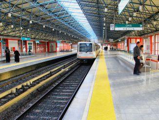 Anúncio do concurso de metrô de ankara e lojas nas estações de ankaray serão alugadas