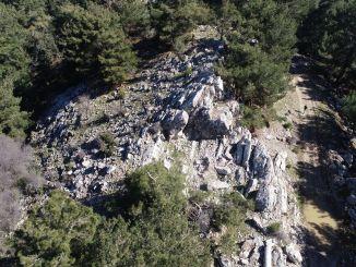 Eldgammel steinbrudd funnet i Izmir Tirazli-bukten