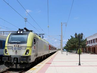 Kapikule ringed regional passenger train hosted its first passengers