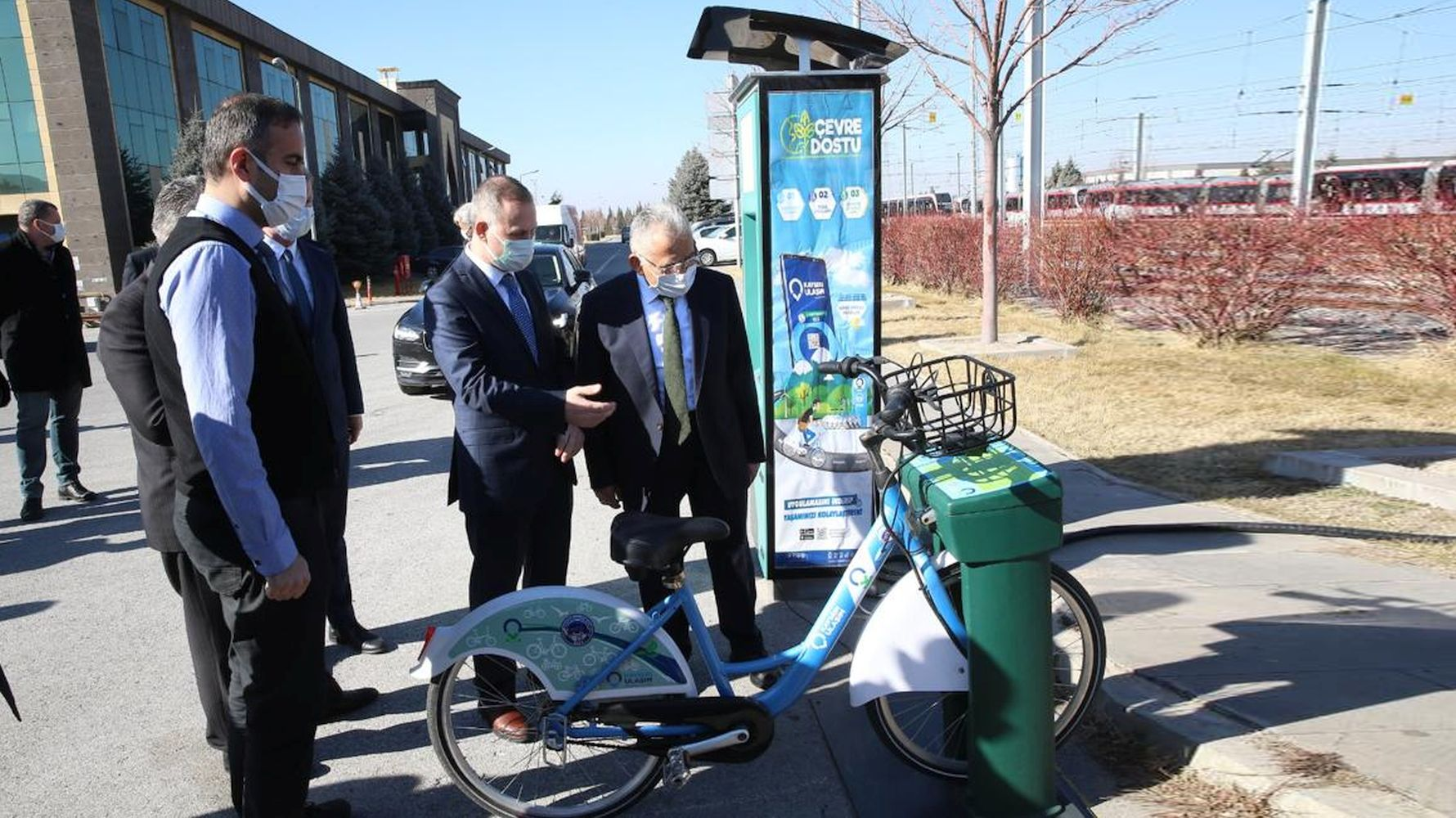 A new smart bike sharing system from Kayseri