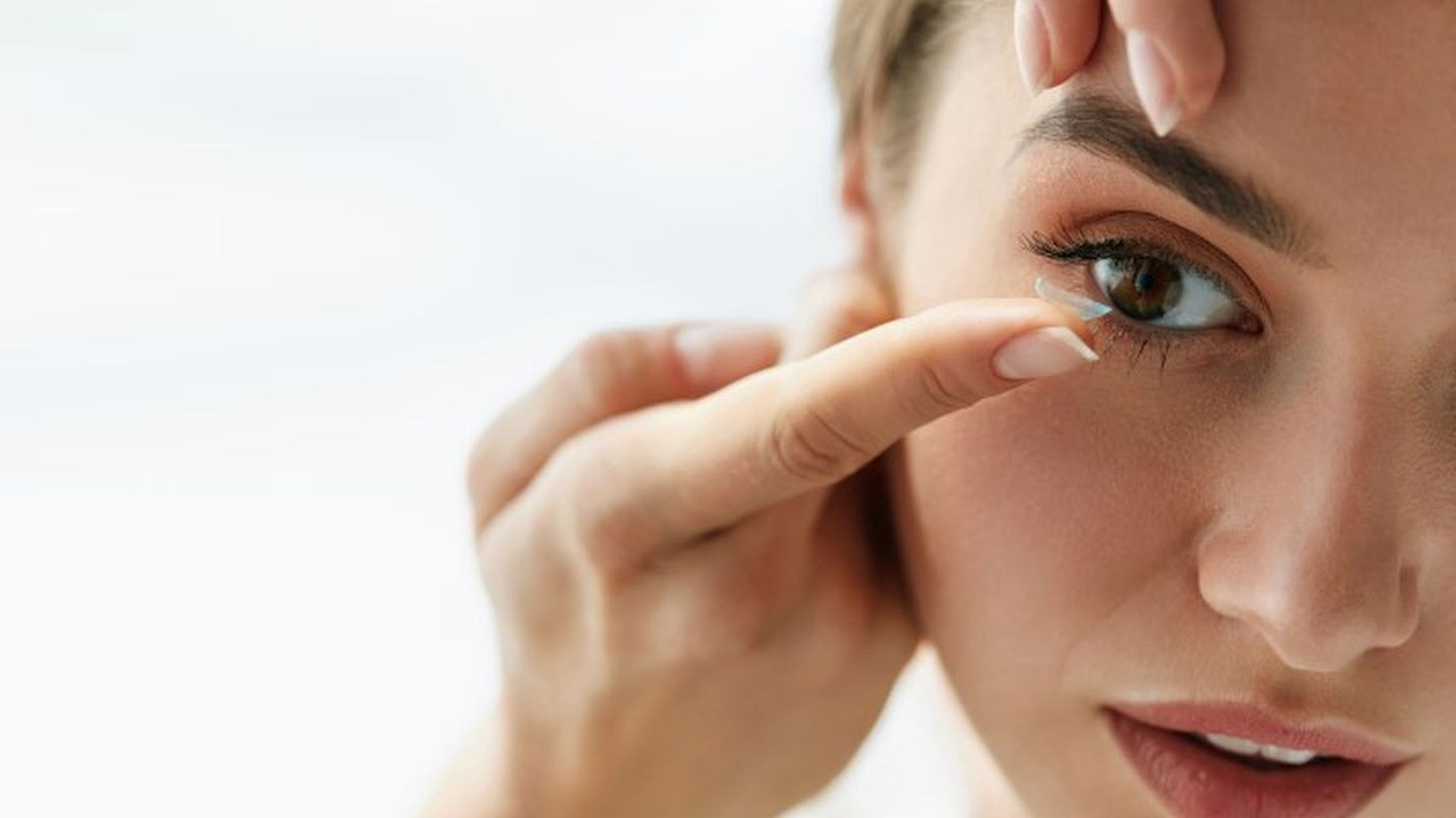 Regular examination is important when wearing contact lenses