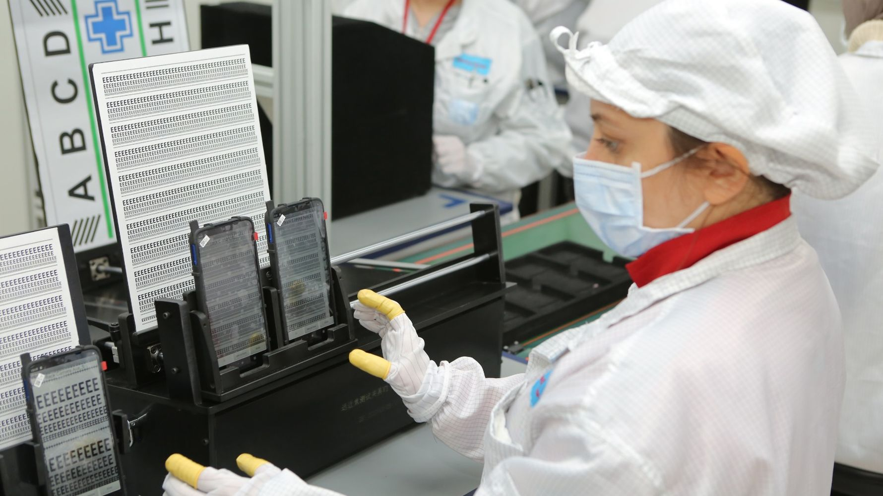 Kontrolmatik salcomp completed cell phone factory in a month