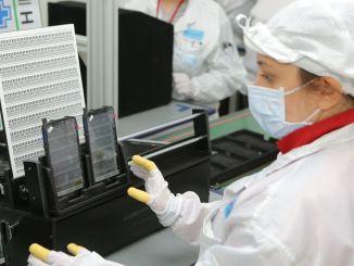 Kontrolmatik salcomp fullførte mobiltelefonfabrikken på en måned