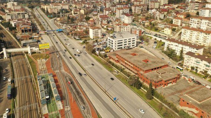 Drilling work started for the Kurucesme tram line pedestrian overpasses