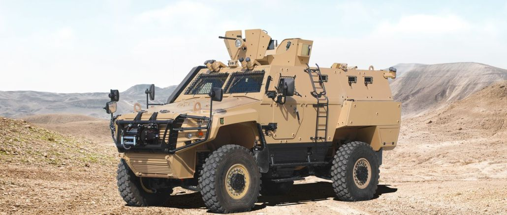 Otokar expanded its cobra ii product family with cobra ii mrap