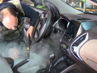 How to do interior disinfection in a car
