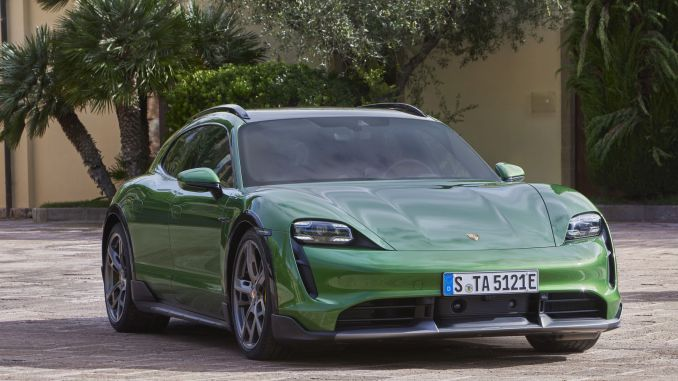 Porsche Taycan Cross Turismo takes the electric car concept to a new dimension