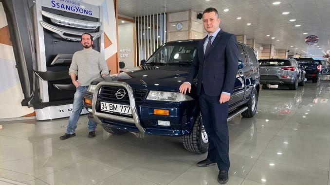 sahsuvaroglu automotive has renewed the vehicle of the baris manco