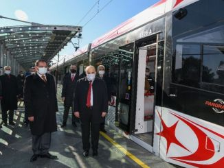Thematic inspection of trams and buses in Samsun