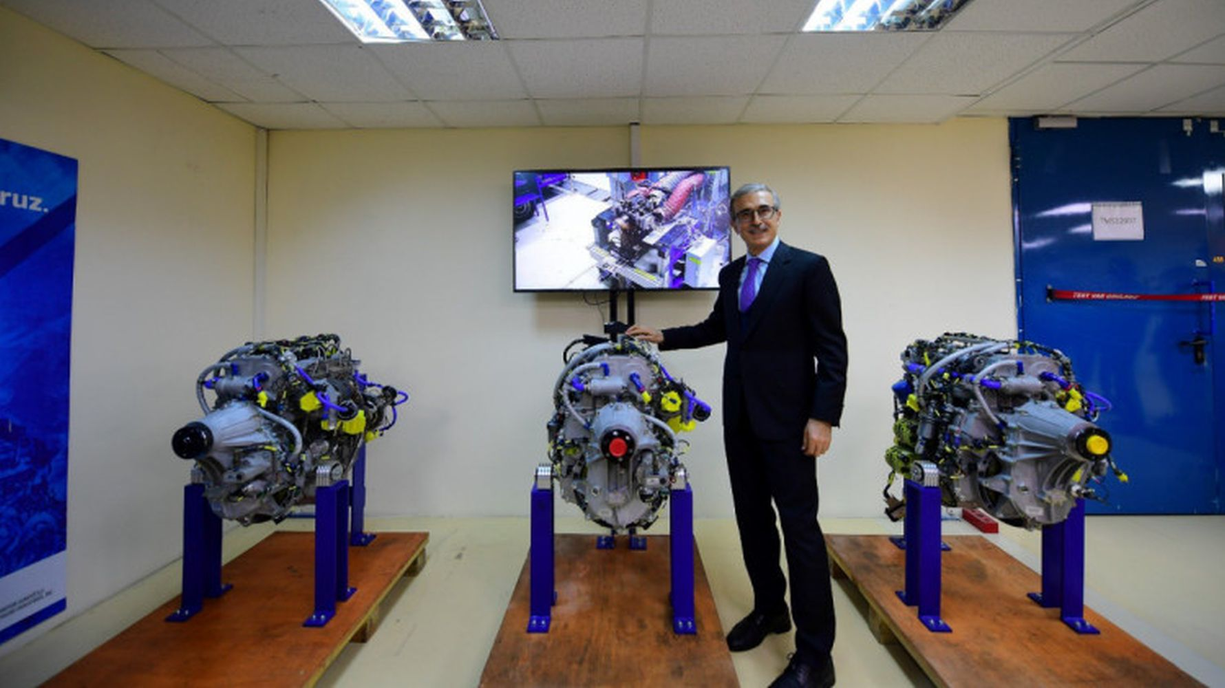 Defense Industry President Prof Dr Ismail Visited Demir Tei