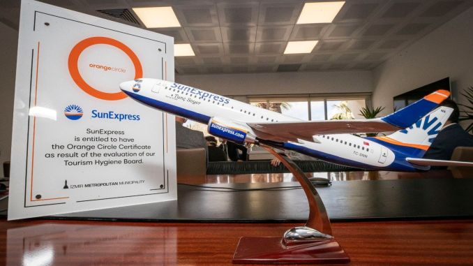 sunexpress becomes the first airline to receive orange ring certificate