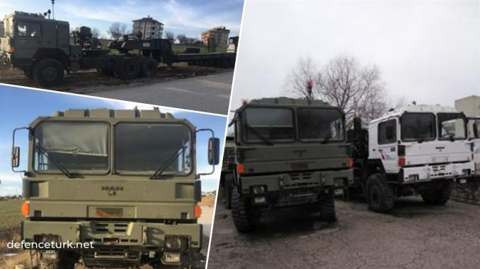 Man x tank transport vehicles removed from the TSK inventory