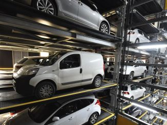 turkiyenin biggest fully automated parking lot izmirde is aciliyor