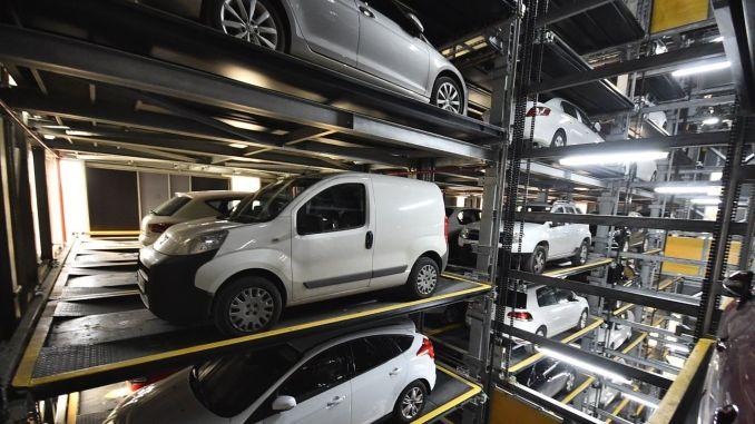 turkiyenin biggest fully automated parking lot izmirde is aciliyor