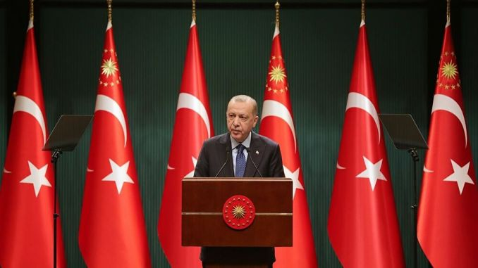 applications continue erdogan made an explanation after the cabinet meeting