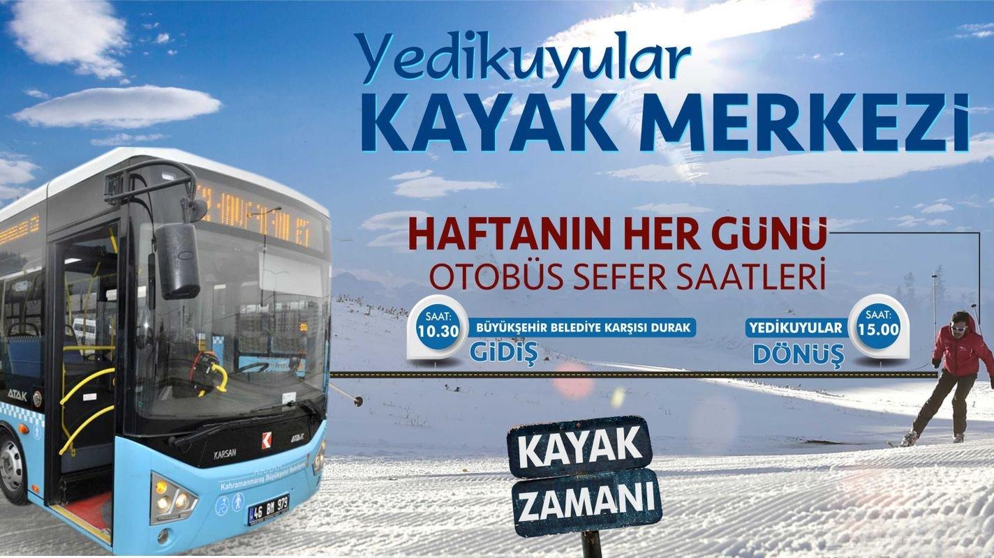 Yedikuyular ski resort starts on the weekend.
