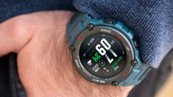 Meet the smart watch with gun battery life