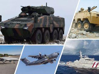 زادت صادرات قطاع الدفاع في الربع الأول من العام