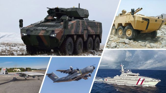 Defense sector exports increased in the first quarter of the year