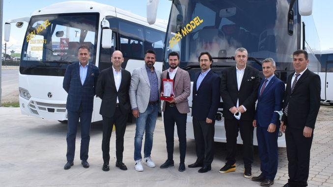 Antalya started the tourism season with temsa