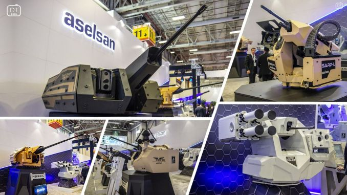 Aselsan continued its growth in the first quarter of the year.