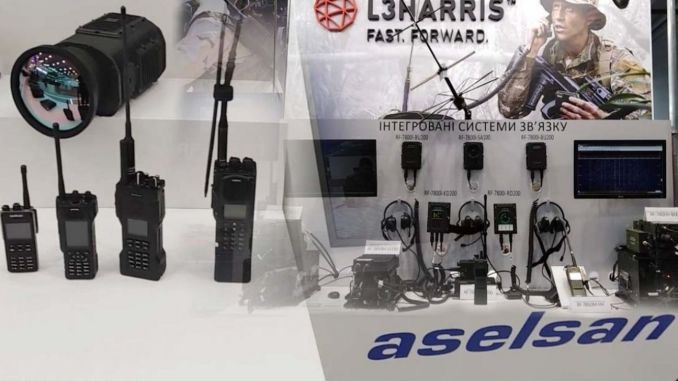 aselsan and lharris became the main supplier for the radio systems of the ukrainian army