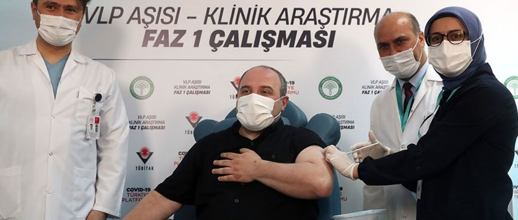 minister varank had the first dose of the local covid, which he was volunteer