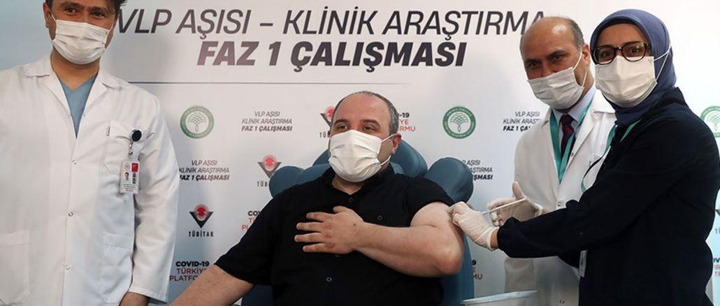 تلقى الوزير فارانك الجرعة الأولى من الكوفيد المحلي ، والذي كان متطوعًا