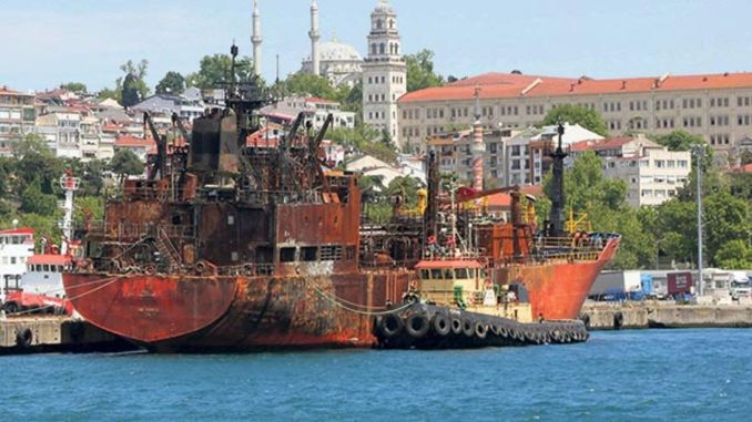 incentive support from the ministry to the builder of the ship it scrapped