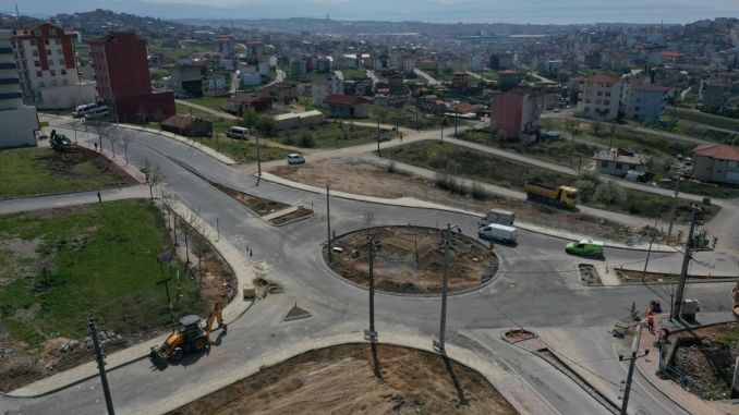 traffic in the cayirova ragip demirkol street will be relieved
