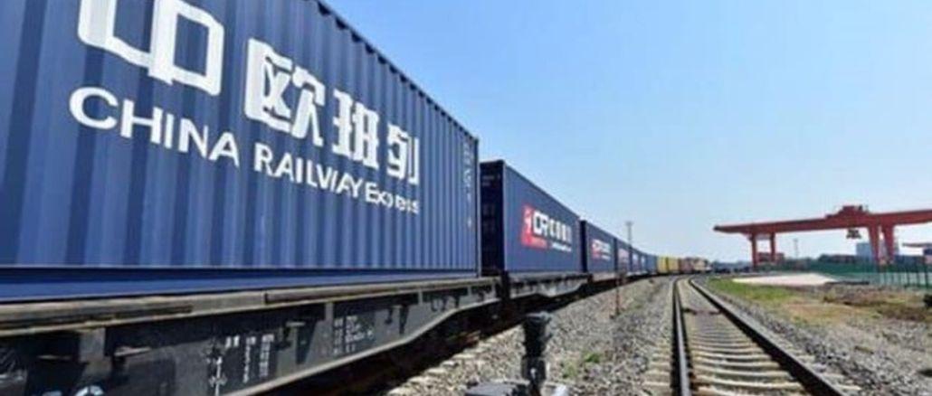 Der europäische Güterzug Cin hat die Anzahl der Fahrten erreicht