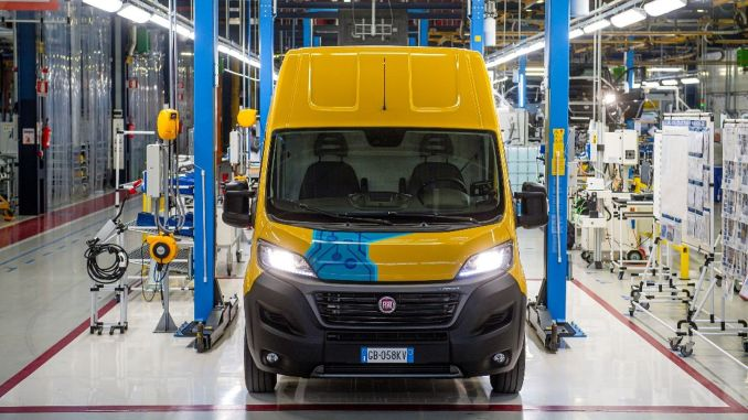 dhl express fiat e ducato buys electric light commercial vehicle
