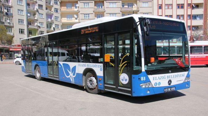 ترتيبات عطلة نهاية الأسبوع لساعات النقل العام elazig