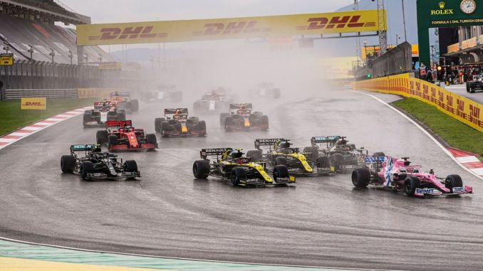 formula returns to intercity istanbul park again