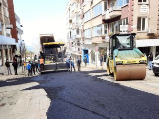 Gazipasa street is opening to traffic