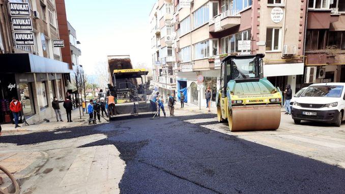 gazipasa caddesi trafige aciliyor