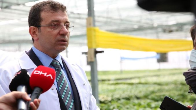 İmamoğlu: Those Who Run After the Canal Istanbul Project Will Not Be Able To Get Rid Of A Forgiveness In The Future