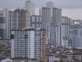 انخفضت مبيعات المساكن الصفرية في اسطنبول بنقاط مئوية مقارنة بالعام السابق