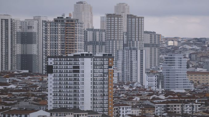 Zero housing sales in Istanbul decreased by percentage points compared to the previous year