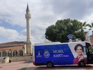 Izmirs Verpflichtung, in die Innenstadt zu kommen, um eine Karte zu bekommen, ist beendet.
