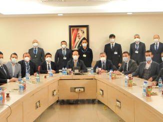 Први састанак је одржан за национални систем сателитске комуникације.