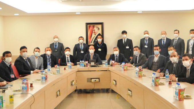 The first meeting was held for the national satellite communication system.