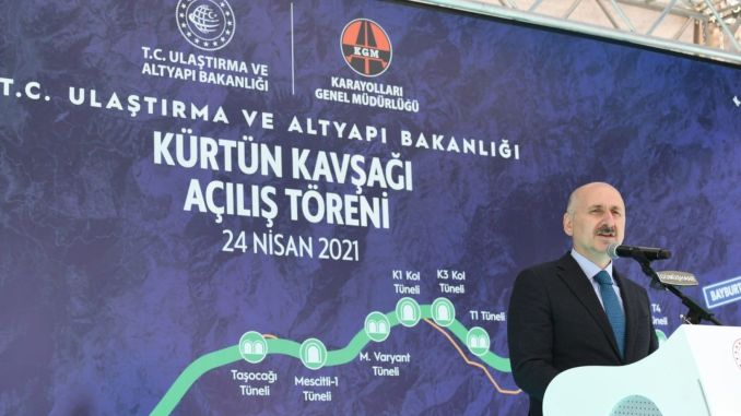 With the wolf's intersection, a safe and comfortable traffic flow will be provided in the region