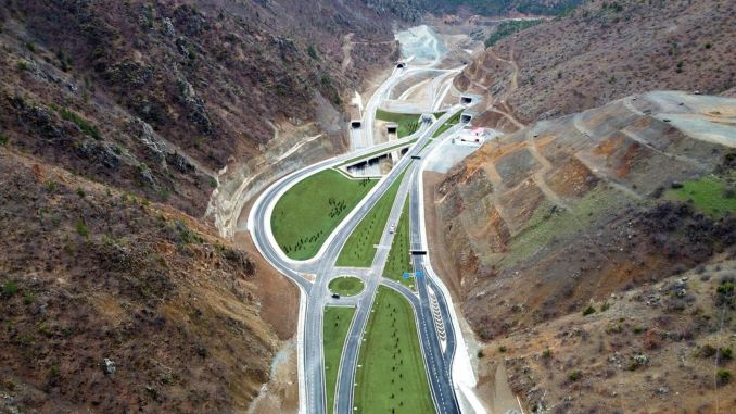 With the tunnel of the wolf, the tirebolu torul road has become safer