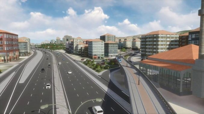 On the Kurucesme tram line, the d intersection will be built first