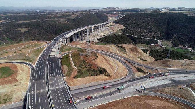 billion million tl additional cost for north marmara motorway